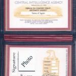 CIA Badge